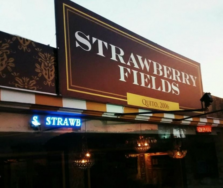 Bar Strawberry Fields