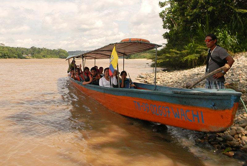 Tour navegable Misahuallí