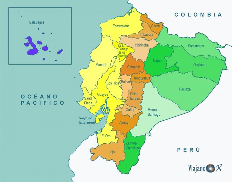 Info Provincias De Ecuador Turismo
