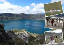 Quilotoa lagoon tour from Quito