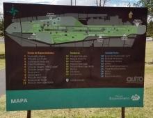 Mapa parque Bicentenario